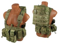 Комплект №2 на основе M.O.L.L.E. Chest Rig Forward (multicam)