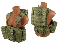 Комплект №5 на основе M.O.L.L.E. Chest Rig Forward (multicam)