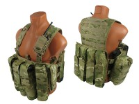 Комплект №6 на основе M.O.L.L.E. Chest Rig Forward ДЛЯ ПЕЙНТБОЛА (multicam)
