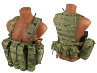 Комплект №7 на основе M.O.L.L.E. Chest Rig Forward ДЛЯ ПЕЙНТБОЛА (multicam)