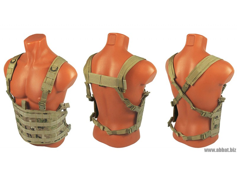 M.O.L.L.E. Chest Rig Forward. ВАРИАНТ КОМПЛЕКТАЦИИ №1 (multicam)