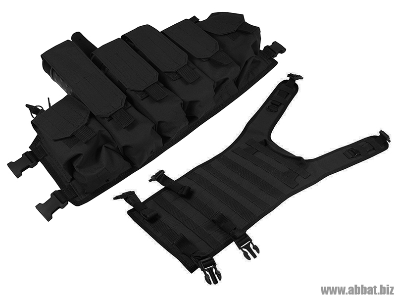 M.O.L.L.E. Chest Rig Bizon. ВАРИАНТ КОМПЛЕКТАЦИИ №2 (black)